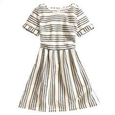 Stucco Stripe Songbird Dress