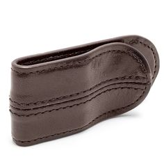 Old Leather Spring Money Clip $35