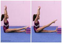 quick tip leg straightening front