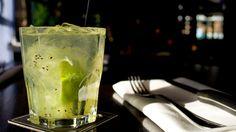 "Cactus Club Café - ""The Brazilian"" – fresh kiwi, lime & sugar cane muddled with rum & soda Vodka Drinks, Cocktails, Brazilian Drink, Kiwi, Happy Hour, Rum, Soda, Cactus, Favorite Things"