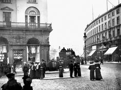 Regent Street and The Quadrant - London - 1900
