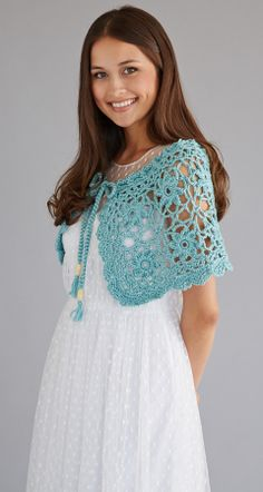 Snow Angel Wrap | crochet today