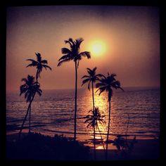 Sunset @ Vagator 2!