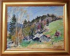 American Artists List Oil Paintings | American-Listed-Artist-Impressionist-Original-Oil-Painting-PAINTINGS ...