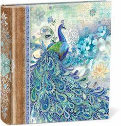 Paisley Peacock Photo Album - $19.99 - Store your precious memories in this fabulous photo album!