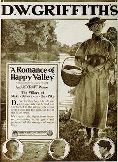 Rare film & TV classics on DVD!: Lillian Gish & Robert Harron in D.W. Griffith's Romance of Happy Valley & True Heart Susie (1919)