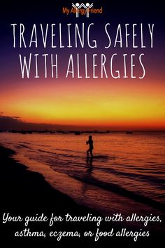 Traveling is hard.  Traveling with allergies is harder.  This post helps you be as safe as possible when traveling with allergies, asthma, food allergies or eczema. http://myallergyfriend.com/travel-allergies/?utm_medium=MAF%3F&dh=0&utm_campaign=coschedule&utm_source=pinterest&utm_content=How%20to%20Safely%20Travel%20with%20Food%20Allergies%2C%20Asthma%2C%20Eczema%20or%20Allergies