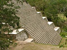 Mexico - Uxmal  Great Pyramid