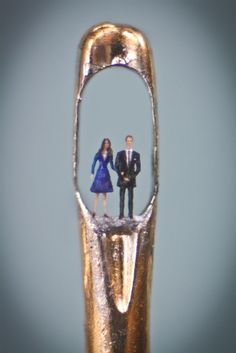 William and Kate in the eye of a needle - PhotoBlog