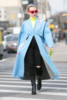 New York Fashion Week: Women's Street Style Fall 2016 Day 2   The Impression