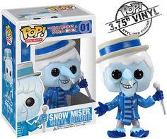 Snow Miser #01 Pop! Holidays Vinyl Figure