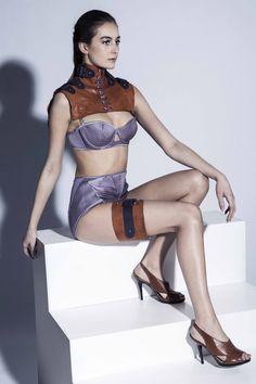 Designer Louise Saynor, Contour Fashion BA (Hons)