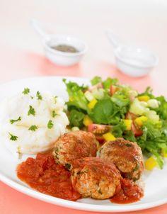 Kjøttboller og potetmos
