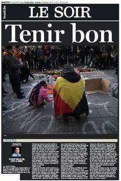 Les unes de la presse internationale au lendemain des attentats
