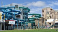 Beach House Waterslides, Glenelg