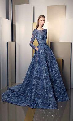 Ziad Nakad , Evening Dress