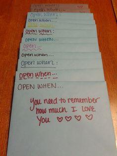 Open When Follow Up. What a sweet gift. | Life. Love. Lauren.