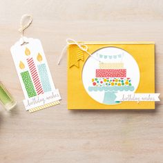 Build a Birthday Photopolymer Stamp Set by Stampin' Up!