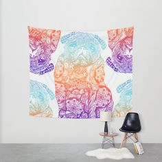 Buy Mandala Pug Wall Tapestry by Huebucket. Worldwide shipping available at Society6.com. Just one of millions of high quality products available.