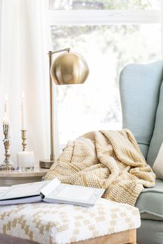 House Interior Cozy Reading Corners Ideas For 2019 My Living Room, Home And Living, Living Spaces, Cozy Nook, Cozy Corner, Cozy Reading Corners, Reading Nooks, Book Nooks, Cozy House
