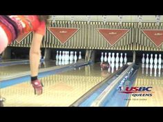 Slow motion bowling releases - 2015 USBC Queens, Day 1, A squad - YouTube