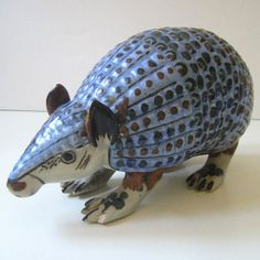 Mr Armadillo Vintage Ken Edwards Mexican pottery by Kultur on Etsy, $18.00