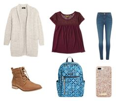 """""""Mid fall """" by ephillips308 on Polyvore featuring Line, Aéropostale, River Island, Wet Seal, Vera Bradley and Kate Spade"""