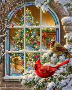 Let Christmas help us to bring Joy, Peace and love to everyone. Remember to feed… – Christmas DIY Holiday Cards Christmas Bird, Christmas Scenes, Vintage Christmas Cards, Christmas Pictures, Christmas Crafts, Merry Christmas, Christmas Decorations, Xmas, Funny Christmas