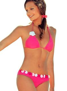 Sweet Squall Triangle Two Piece Swimsuit     - This summer holiday will become a sweet squall for your heart and soul! Experience fantastic explosion of passion and delicious feelings! This summer holiday will become a sweet squall for your heart and soul! Experience fantastic explosion of passion and delicious feelings!   - Price  $170