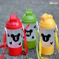 Mickey Water Bottles