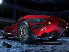 Alfa Romeo 33 Stradale on Behance Lamborghini, Ferrari, Alfa Romeo 8c, Alfa Romeo Cars, Custom Muscle Cars, Best Muscle Cars, Automotive Photography, Car Photography, Jaguar
