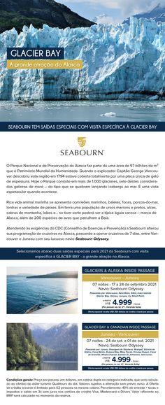 Seabourn tem saidas especiais com vista específica à Glacier Bay Desktop Screenshot, Luxury Cruises, Alaska, Viajes, Destinations