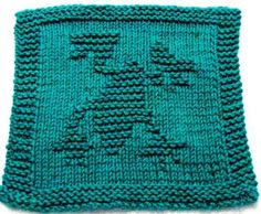 Knitting Cloth Pattern - FROG - PDF by ezcareknits for $2.85