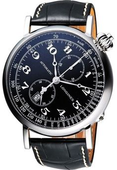 Marked Down New Longines Heritage Avigation Mens Automatic Watch L2.779.4.53.2