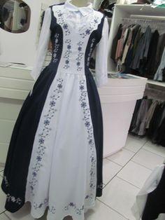 8ddaf24f7 Vestido De Prenda  armação lenço Modelo Sandra - R  500
