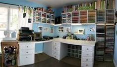 Wow!  Look at the paper storage