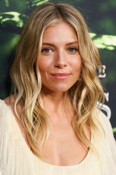 Sienna Miller's Face-Framing Waves - Long Mom Haircuts - Photos