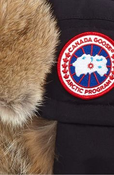 Canada Goose Down Fill Aviator Hat with Genuine Coyote Fur Trim  7f706a28f7e6