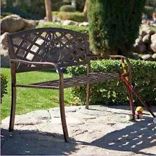 Vintage/Retro Cast Iron Chairs | eBay