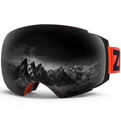 144322a768a Zionor X4 Ski Snowboard Snow Goggles Magnet Dual Layers Lens Spherical  Design Anti-Fog UV