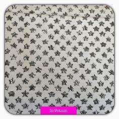 Baumwoll Jersey Sterne, grau,50 cm von InVotum auf Etsy