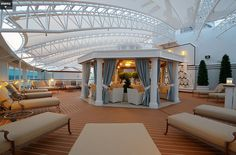 Regal and Royal Princess adult only Solarium