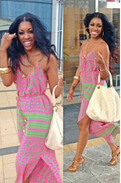 Porsha Stewart #Maxi Dress