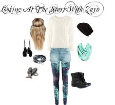 """Looking At The Stars With Zayn"" by niall-is-the-best on Polyvore"