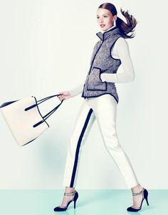 J.Crew 'Hey, Fancy Pants' Lookbook  http://www.fashion-style.becomegorgeous.com/fashion_news/jcrew_hey_fancy_pants_lookbook-9090.html
