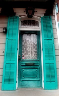 New Orleans doorways, Louisiana, USA   by p may