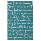 Sonnet Turquoise 5 ft. x 7 ft. 6 in. Area Rug