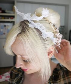 More Design Please - MoreDesignPlease, very cool hairpiece!