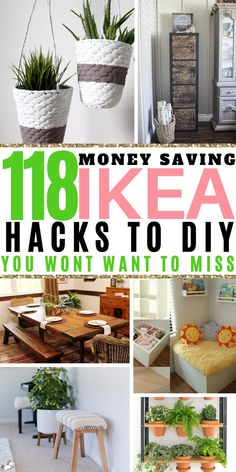 118 Money Saving Ikea Hacks To DIY You Wont Want To Miss! These Ikea Hack Ideas are perfect if you love DIY home decor on a budget! decor diy on a budget 128 Best IKEA Hacks You Shouldn't Miss [Updated Diy Hacks, Best Ikea Hacks, Diy Home Decor Rustic, Diy Home Decor Bedroom, Diy Home Decor On A Budget, Budget Decorating, Diy Decorations On A Budget, Garden Diy On A Budget, Bedroom Wall