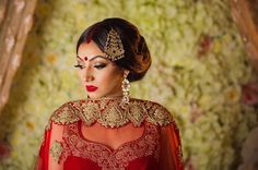 ✨ Why book a bridal appointment with Bombay Couture? We go out of our way to make sure your outfit and accessories are perfectly to your liking for your does special day! ❤️We customize any changes that you want and make sure all our customers have best experience!✨ ✨MUA - @contouredstudios  Decor - @charmingaffairsdecor  Photography - @varsolavisuals  Model - @navneenkhattra Lashes - @contouredstudios  Outfit & Accessories - @bombay_couture ✨  _______  We customize our designs to your…